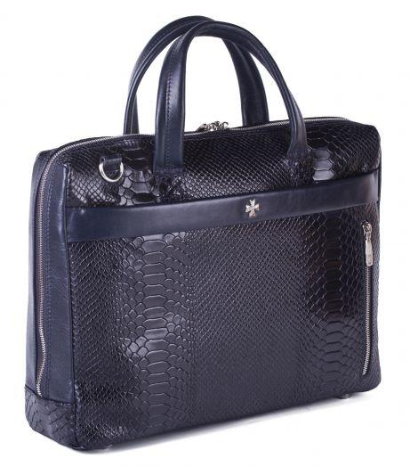Портфель-сумка NarVin 9752-N.Anaconda D.Blue