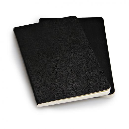 Блокнот Moleskine Volant Pocket, черный, в линейку